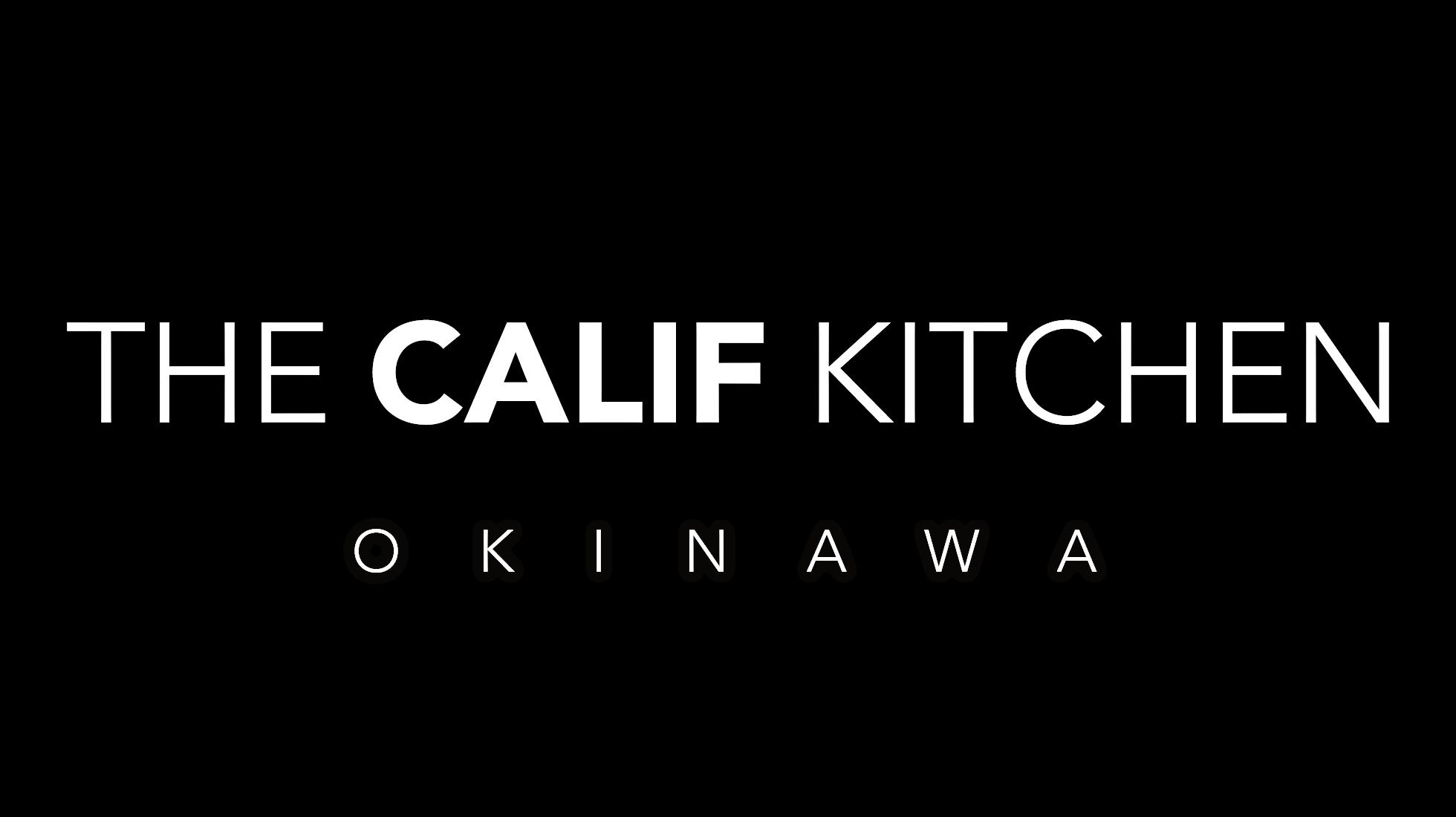 The Calif Kitchen 沖縄北谷店メインロゴ